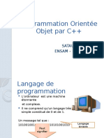 Programmation Orientée Objet par C++ Séance 1
