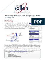 Apollon eHomecare and Independent Living Systems Experiment