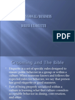 Dressing and Grooming for Business Presentation-1.ppt