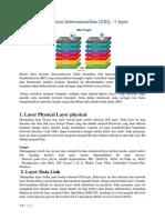 Materi Model OSI Layer