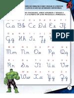 Aprendendo Caligrafia Letras