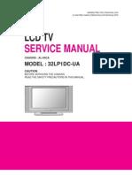 Lg Lcd Tv 32lp1dc_al-04ca Service Manual