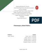 Fisioterapia y Salud Pública
