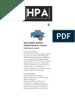 Orlando Magic - Performance Coach | HP Associates