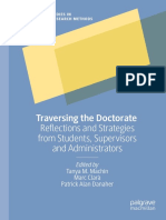 (Palgrave Studies In Education Research Methods) Tanya M. Machin, Marc Clarà Patrick, Alan Danaher - Traversing The Doctorate_ Reflections And Strategies From Students, Supervisors And Administrators-
