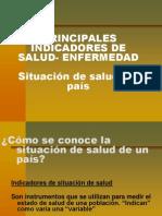 Principales Indicadores de Salud Uruguay