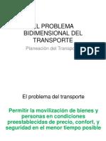 EL PROBLEMA BIDIMENSIONAL DEL TRANSPORTE