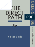 Greg Goode - The Direct Path - A User Guide