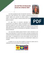 Lineamientos Del Proyecto Simon Bolivar