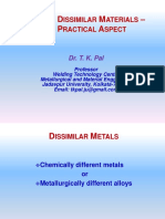Dr. T K Pal _ Joining of Dissimilar Materials – Some Practical Aspect