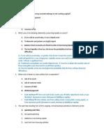 Advanced Corporate Finance Quiz 2 Solutions