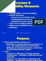 Testability measures SCOAP Bushnell