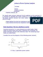 IntrAnalysis,Nodal,GS Method