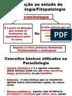 AULA DE PARASITOLOGIA E FITOPATOLOGIA