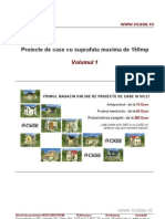 Proiecte de case - suprafata max. 150mp - Vol 1