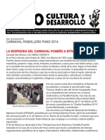 CARNAVAL PANDILLERO PUNO