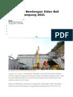Konstruksi Bendungan Sidan Bali Ditarget Rampung 2021.docx