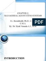 CHAPTER 2 - Managerial Accounting Systems-1