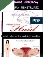3. Gangguan Menstruasi