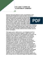 Introdução do livro O Erro de Descartes, de António R  Damásio