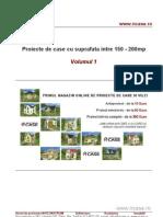 Proiecte de case - suprafata intre 150mp si 200mp - Vol 1