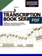 Solos de Saxo Transcriptions