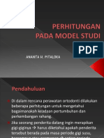 kul orto 4.1 - perhitungan model studi