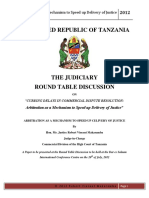 Arbitration Mechanism of Alternative Dispute Resolution