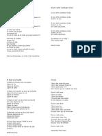 Poèmes chant du monde