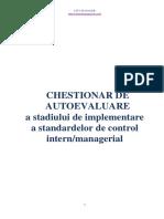 Model Chestionar de autoevaluare CIM