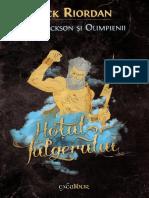 Rick Riordan - Percy Jackson Si Olimpienii - 01 - Hotul Fulgerului