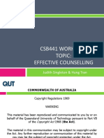 CSB441 Topic 4 Effective Counselling(1)