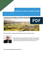 %22Impliquer la population dans les projets de Smart villages%22 | Réseau rural français.pdf