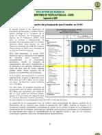 NOTA 26. Proyecto Presupuesto Conafor 2010