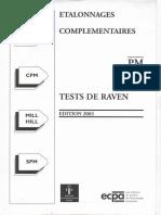 Matrices de Raven données complémentaires 004