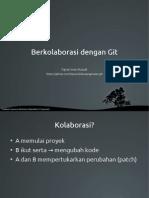 Berkolaborasi dengan Git