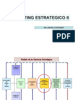 MARKETING ESTRATEGICO II