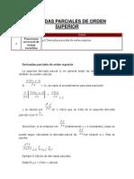 4.6 Derivadas Parciales de Orden Superior.