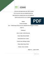 Modelo Integral Del Proceso de La Administración Estratégica CEMENTOS ARGOS S.a.