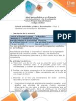Guia de actividades y Rúbrica de evaluación -Unidad 1-Bases conceptuales para el diseño de futuro-Fase 1- Diagnóstico