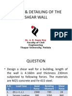 DESIGN & DETAILING OF THE SHEAR WALL_FINAL_WITH EXAMPLE [Autosaved]