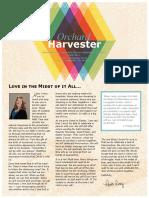 April 2020 Harvester Newsletter
