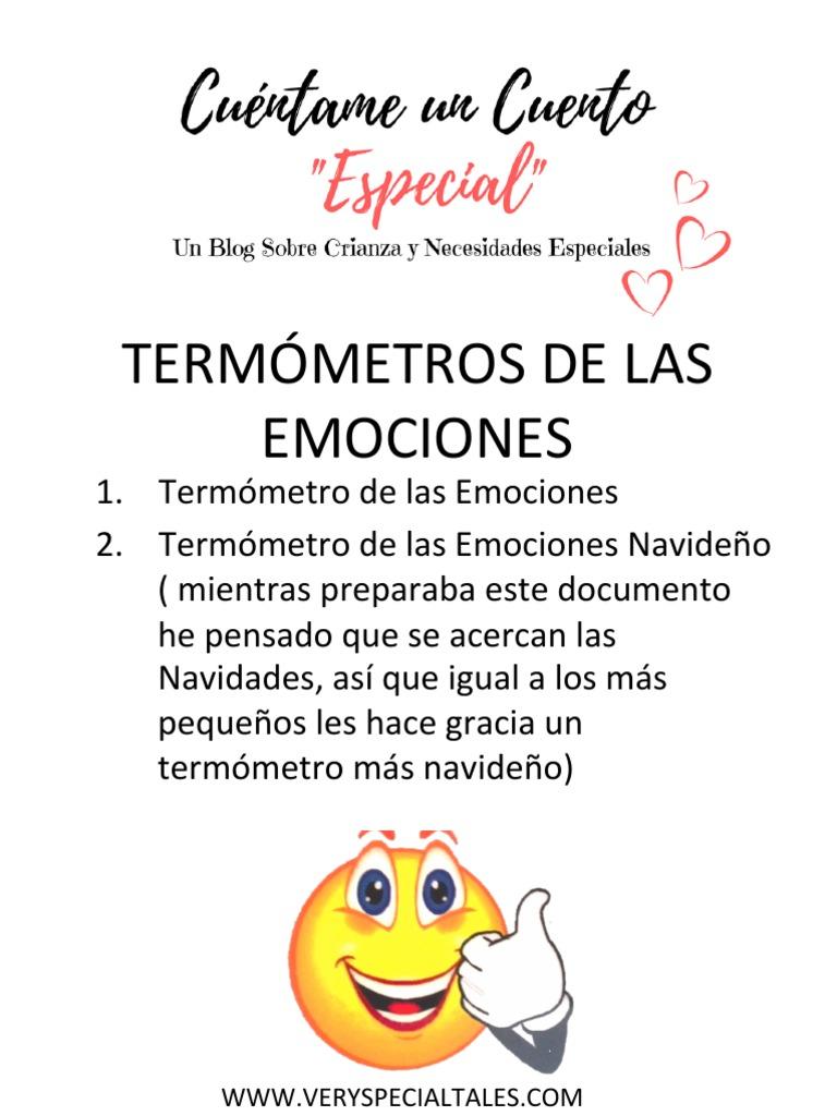 Termometro De Las Emociones Pdf Pdf El termómetro de las emociones. termometro de las emociones pdf pdf