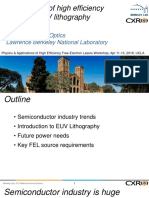 FELs for EUV lithography