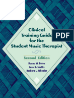Clinical Training Guide for the Student Music Therapist_ Second Edition