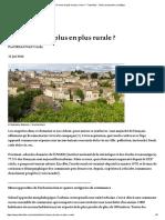 16-Une France de plus en plus rurale _ - Futuribles - Veille, prospective, stratégie