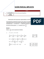 4.8 Derivación parcial implícita.