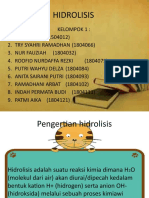 HIDROLISIS PPT FARFIS