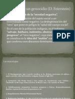 Etapas de un Genocidio -D. Feierstein-  La Conquista del Gran Chaco -Similitudes y diferencias con Pampa-Patagonia (1)