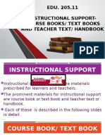 EDU 205.11 Course Book and Handbook